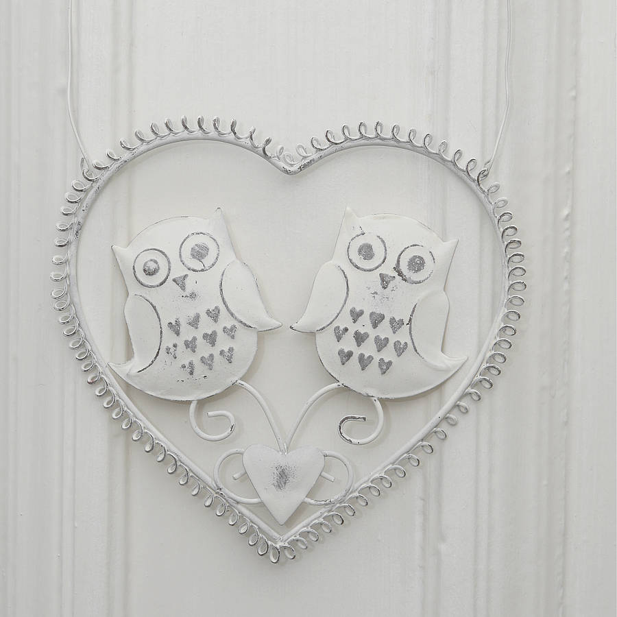 Vintage Style Owl Decoration By Red Berry Apple