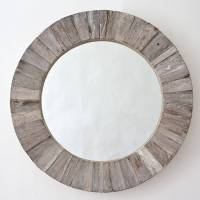 round wooden mirror by decorative mirrors online ...