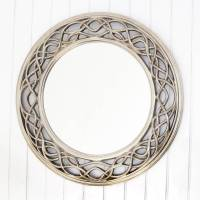 twisted elaborate round mirror by decorative mirrors ...