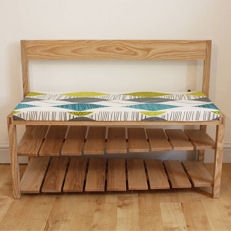Hall Bench With Shoe Storage By A B Furniture