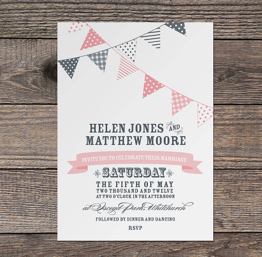 Non Traditional Wedding Invitation Wording Couple Hosting