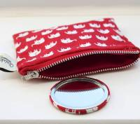 compact mirror and purse set by quirkybee ...
