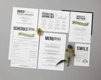 baker street wedding invitation set by doodlelove ...
