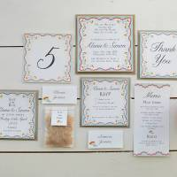 spring petals wedding invitation set by lucy says i do ...