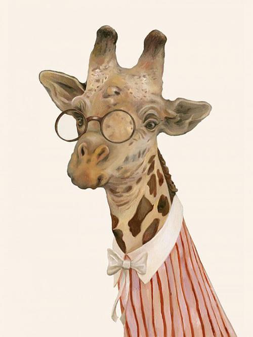 Animal Print Desktop Wallpaper Giraffe Art Print By Monde Mosaic Notonthehighstreet Com