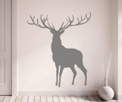 deer stickers for wall