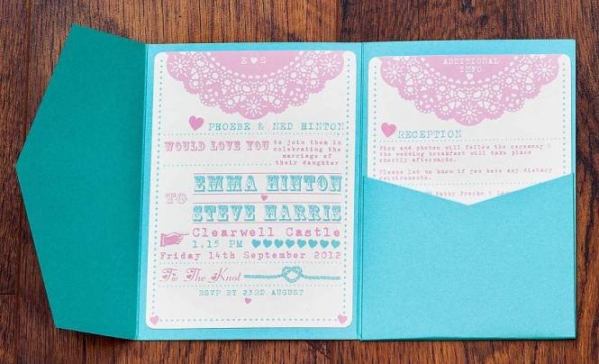 Pocket Fold Wedding Entrancing Pocketfold Invitations