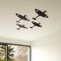 spitfire vinyl wall sticker set by oakdene designs ...