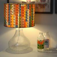 tape measure fabric lampshade by grace & favour home ...