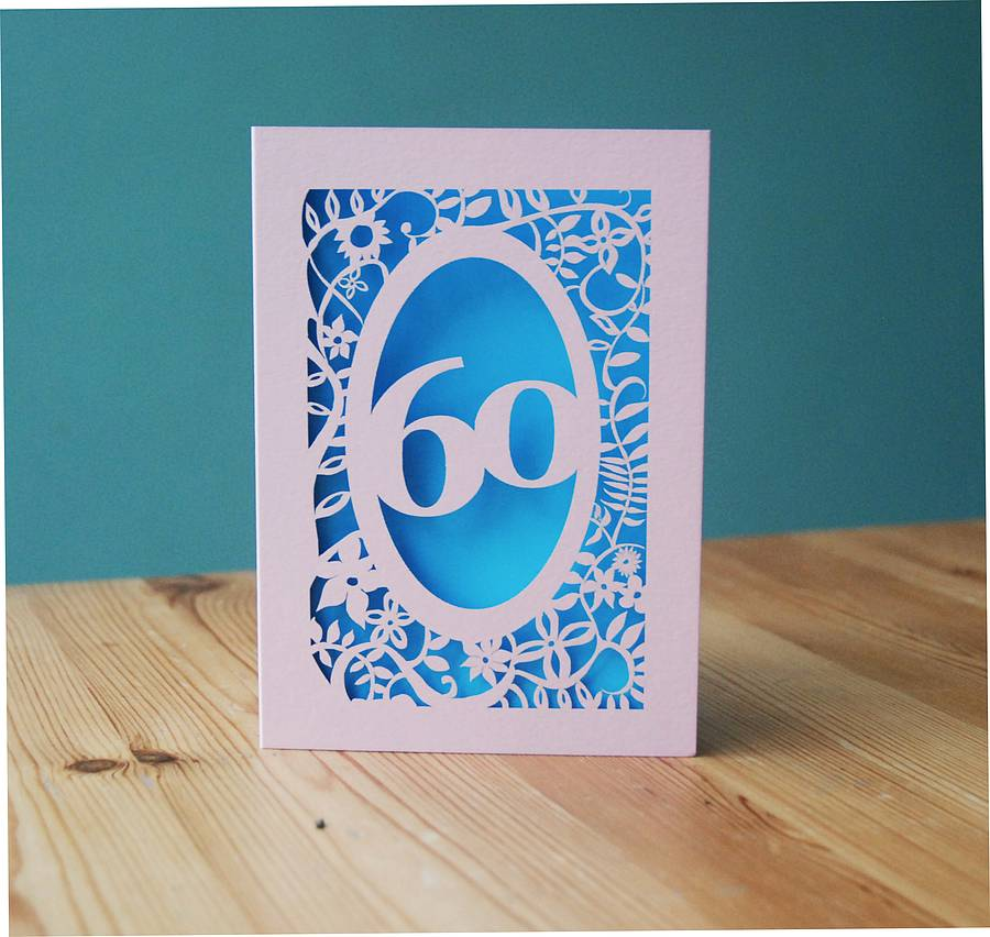 Personalised Laser Cut Cards