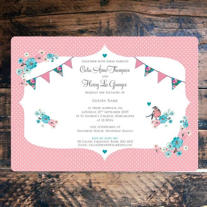 4evr Wedding Party Invitations