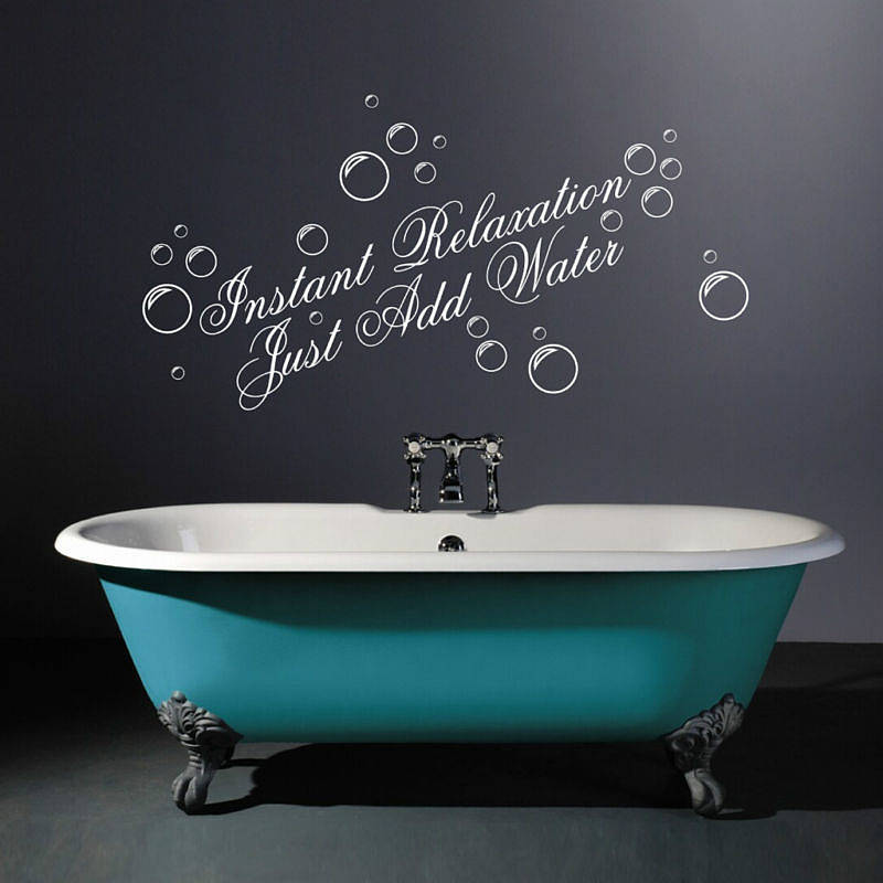 instant relaxation wall quotes stickers by parkins