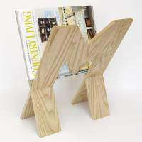 wooden magazine rack by cairn wood design ...