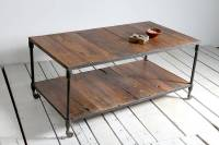 reiner upcycled pipe coffee table by little tree furniture ...