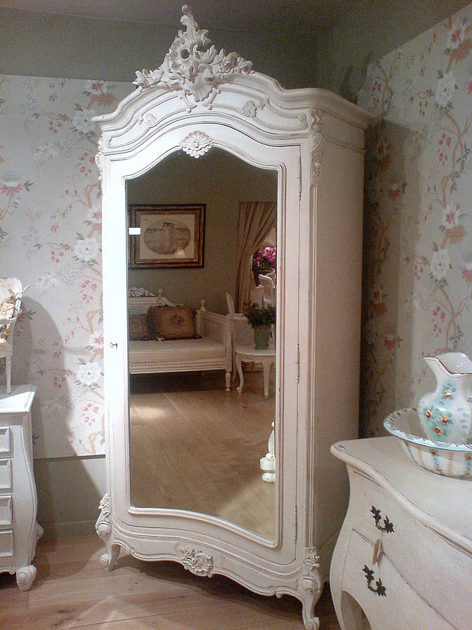 white french armoire by out there interiors