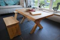 handmade oak coffee table by the old school carpentry ...