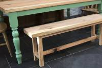 traditional farmhouse kitchen table by the old school ...