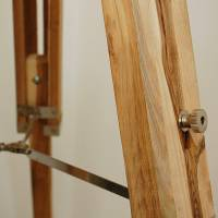 natural wood tripod floor lamp base by quirk ...