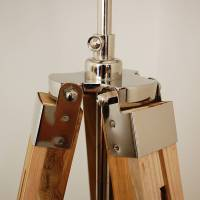 natural wood tripod table lamp base by quirk ...