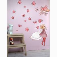 fairy wall sticker by nubie modern kids boutique ...