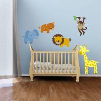 safari animal wall stickers by mirrorin