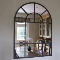 metal arch mirror by decorative mirrors online ...