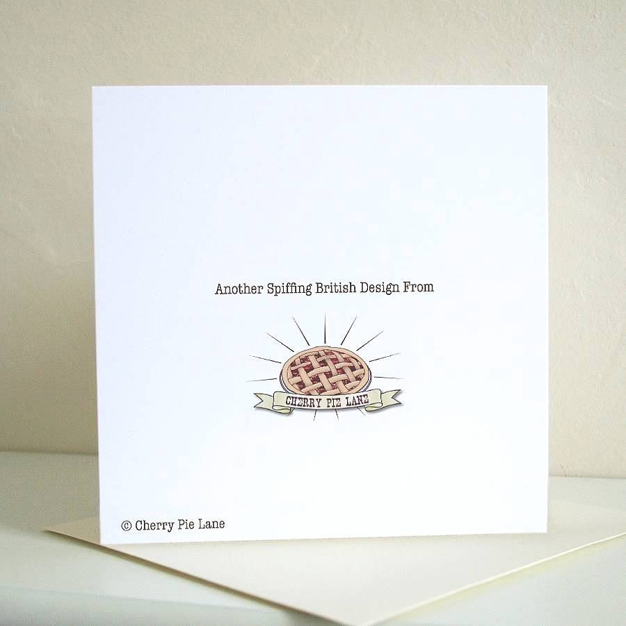 'cheeky Little Sprout' Christmas Card By Cherry Pie Lane