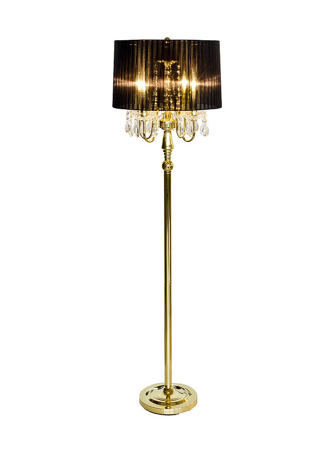 art deco style floor lamp by made with love designs ltd