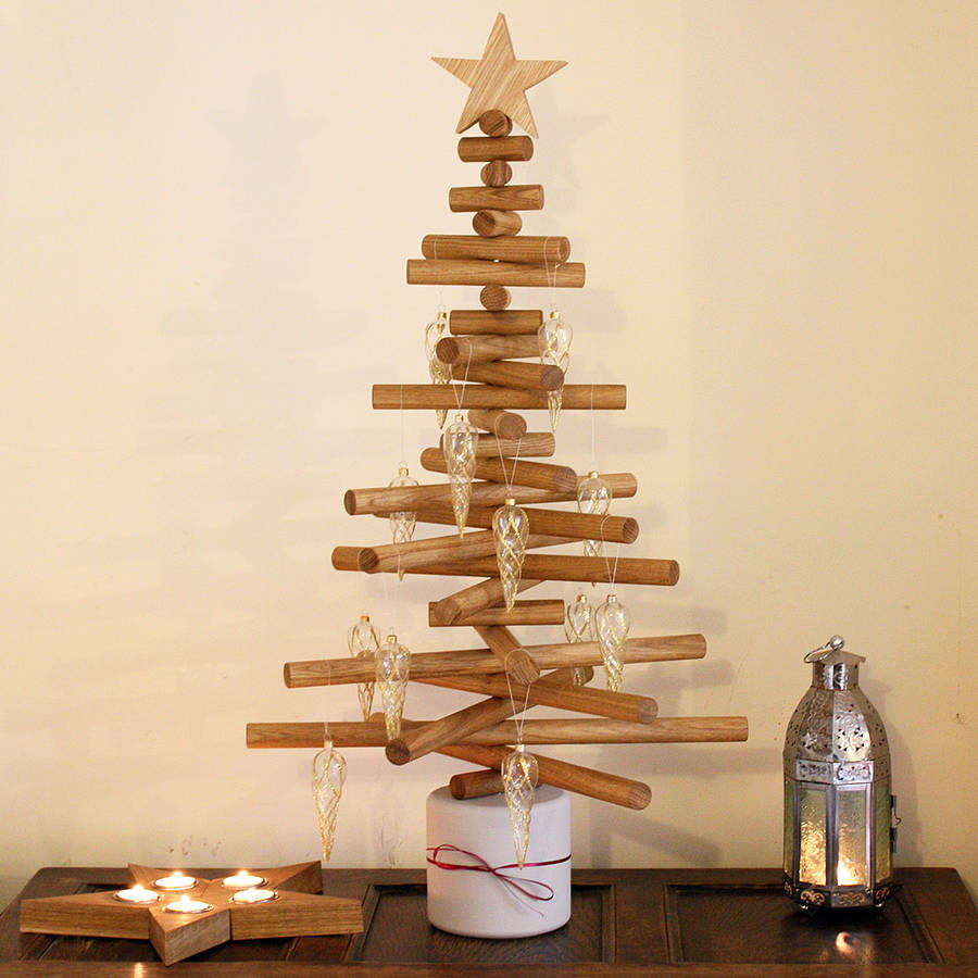 Oak Christmas Tree By Ab Furniture