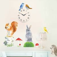 garden animals wall sticker by chocovenyl ...