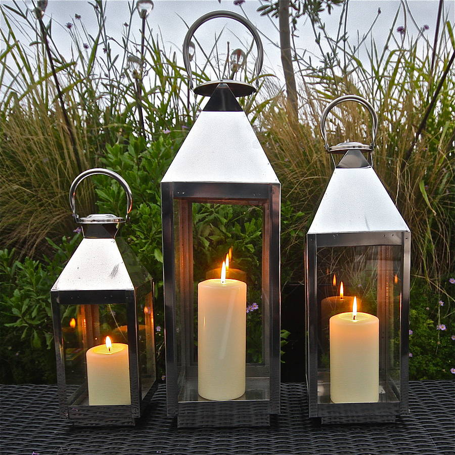 Outdoor Garden Lanterns Hurricanes