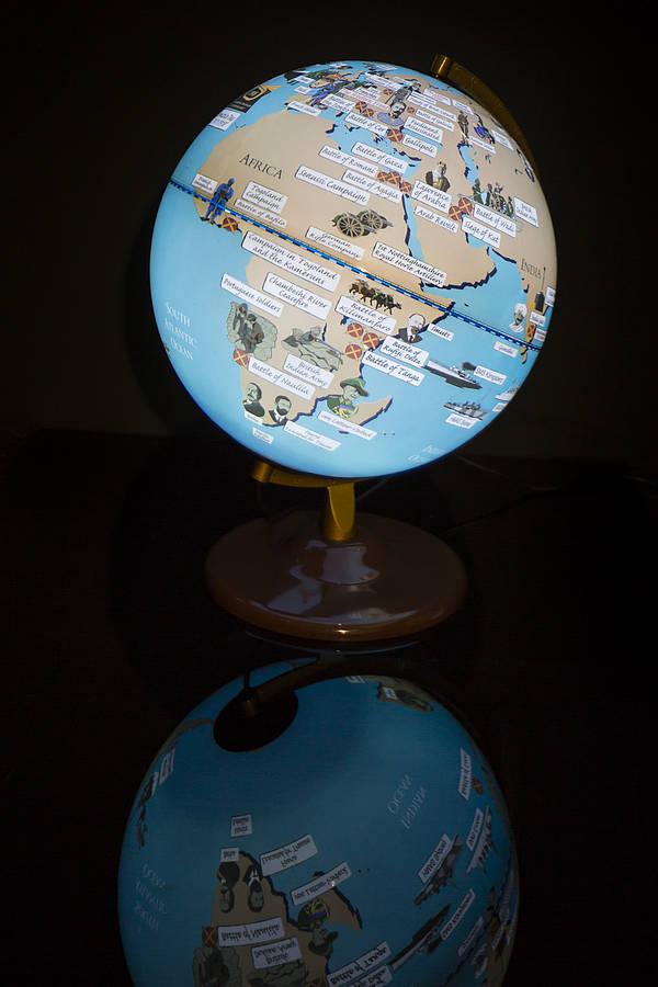 first world war light up globe by globee