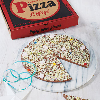 Chocolate Pizza cheap gift ideas for teen girls