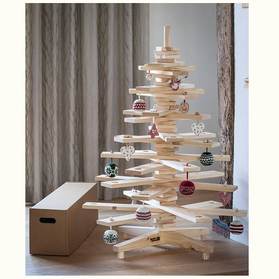 s timbatree product small wooden christmas tree