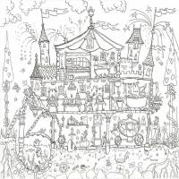 princess palace colouring in poster by really giant ...