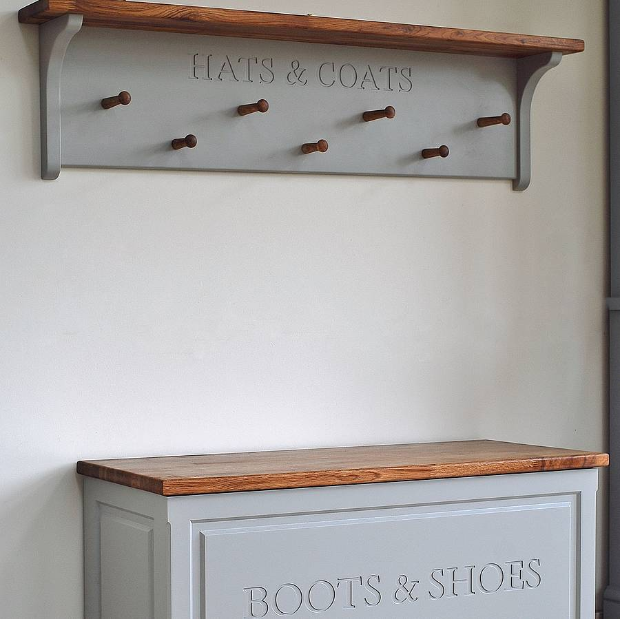 hat and coat rack by chatsworth cabinets