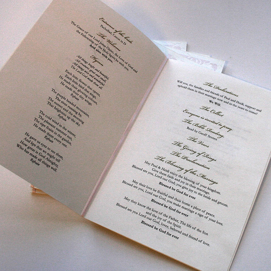Order Service Wedding