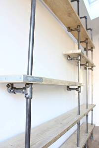 wesley scaffolding board and steel pipe shelving by urban ...
