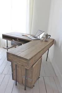 stuart industrial reclaimed board corner desk by urban ...