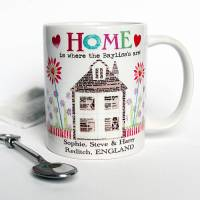 personalised new home mug by lovehart | notonthehighstreet.com