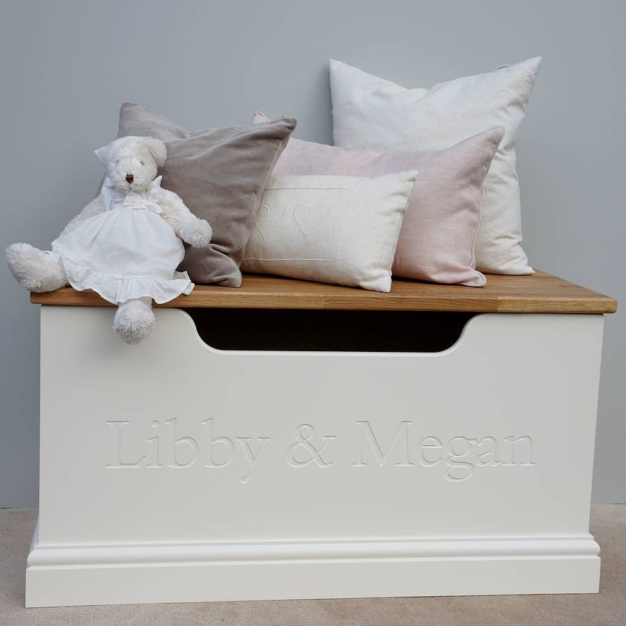 girls toy box or storage chest by chatsworth cabinets