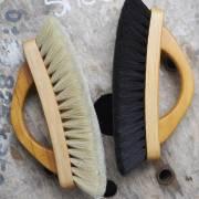horse hair shoe shine brush