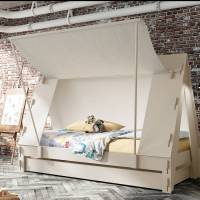 children's tent bed by idyll home