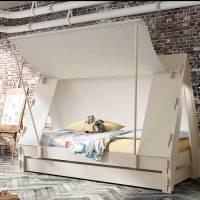 children's tent bed by idyll home | notonthehighstreet.com