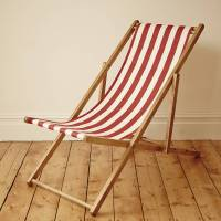 stripy vintage deck chair by deja ooh | notonthehighstreet.com