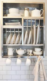 middle stainless steel plate rack by the plate rack ...