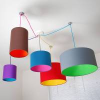 pick and mix drum lampshade 100's of colours by quirk ...