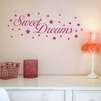 sweet dreams wall stickers by nutmeg | notonthehighstreet.com