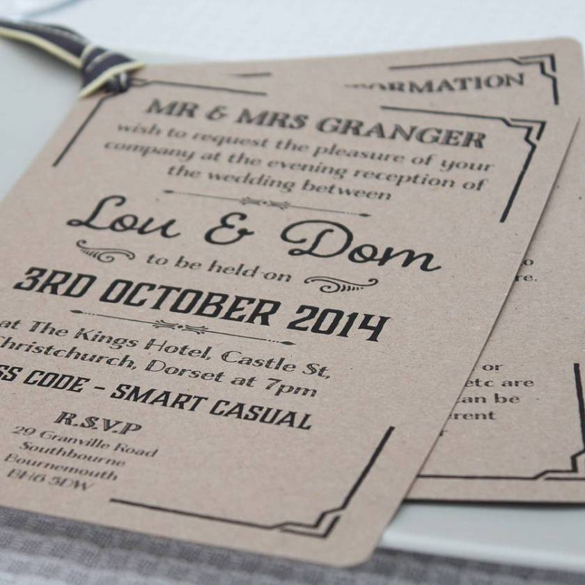 What To Put On Evening Wedding Invites 28 Images