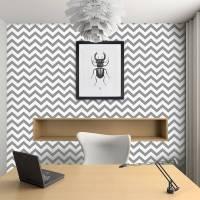 contemporary chevron self adhesive wallpaper by oakdene ...